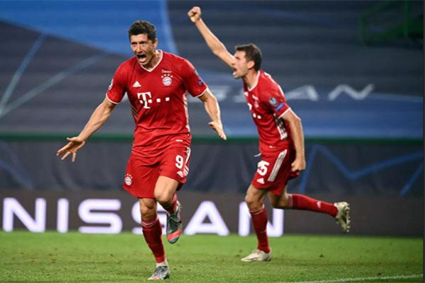 Bayern München Lolos Ke Final, skor liga champion, buyern vs lyon