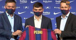 Pedri, Barcelona, Pemain Baru Barcelona, Lionel Messi, La Pulga