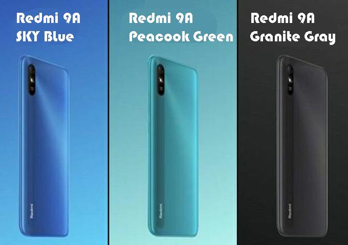 Redmi 3 Varian, Redmi 9A, Harga Redmi 9a
