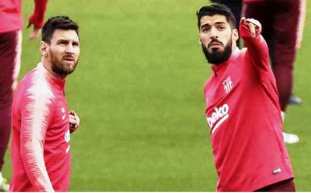Lionel Messi, linimasa Barcelona dan Messi, Juventus, Cristiano Ronaldo, Luis Suarez