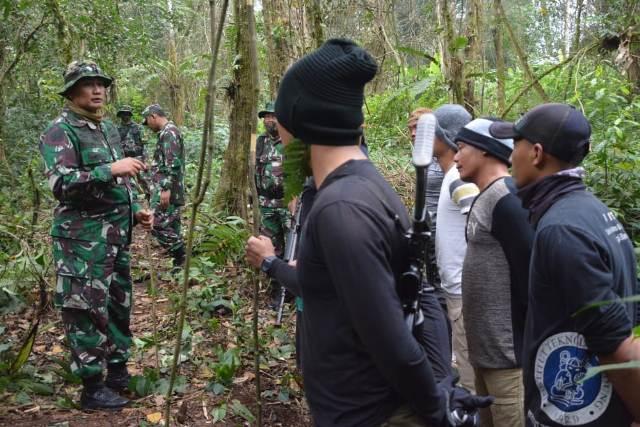 Kasdam III Siliwangi, Latihan Pratugas, Batalyon Infanteri, Desa Muncang, Desa Balegede, Gunung Sumbul