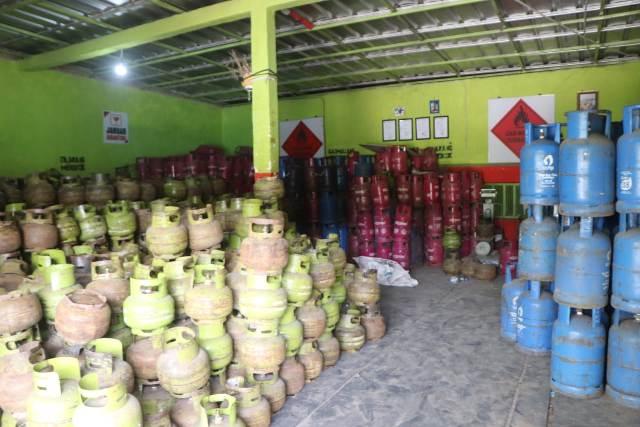 Pangkalan LPG, Sidak Pangkalan LPG, Pangkalan Gas LPG 3 Kg, kelangkaan LPG 3kg, Pratama Bima Energi, Stok Pengisian SPBE
