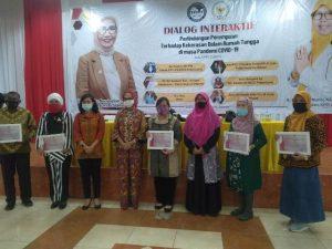 Dialog Interaktif, Direktur WCC, pola pikir, Kaukus Politik Perempuan Indonesia, faktor ekonomi, DPD KPPI, Pandemi Covid-19, menggugat cerai, Gugatan Cerai