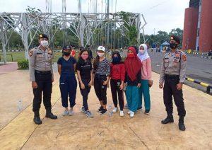 Operasi Mang Pedeka, polda Sumsel, Jakabaring Sport City, Kawasan Olahraga, Peduli Covid-19, Pandemi covid-19