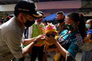 Masyarakat Sehat, Pola Hidup Sehat, Operasi Yustisi, sosialisasi, memakai masker, mencuci tangan