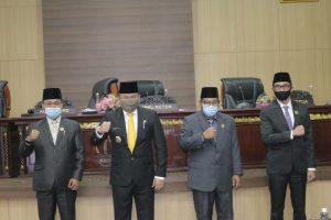 Dewan Perwakilan Rakyat Daerah, DPRD Muba, RAPBD Muba, Fraksi-fraksi DPRD, Rapat Paripurna, R-APBD Perubahan