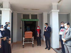RSMH Palembang, Tenaga Medis, TPU Nagaswidak, Protokol kesehatan, Covid-19