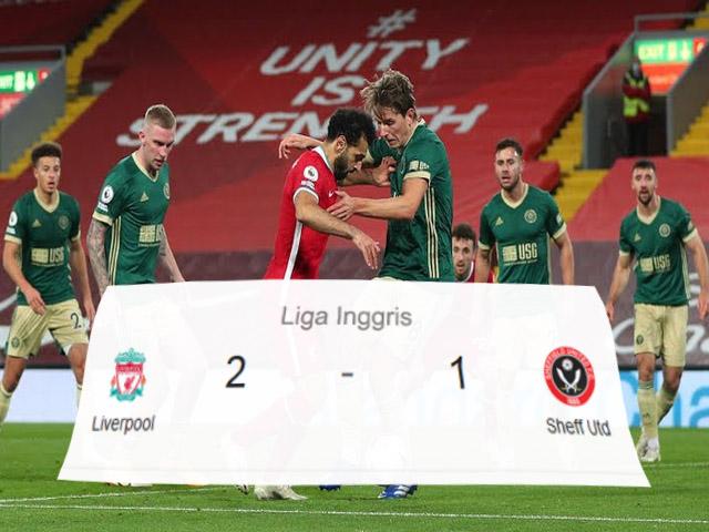 Liverpool, Sheffield United, Liga Inggris, Premier League, Skor Pertandingan