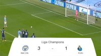 Man City, Manchester City, Porto, Puncak Klasemen, Skor Pertandingan