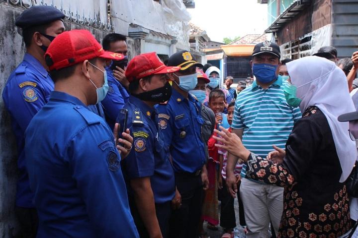 Perhatikan kompor, Musibah Kebakaran, Kota Palembang, menghimbau masyarakat, lokasi kebakaran