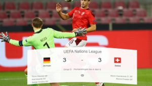Jerman, Swiss, Jerman vs Swiss, Skor Pertandingan, Liga Eropa, UEFA Nations League, Skor Imbang