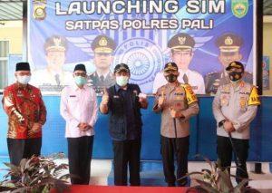 Launching Layanan SIM, SIM, Surat Izin Mengemudi, Kabupaten PALI, Lebih Efesiens, Kabar Pali