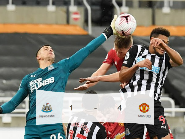 Liga EPL, Gol Bunuh Diri, Skor Pertandingan, Manchester United, Newcastle, Sports Direct Arena