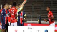 Skor Pertandingan, PSG, Nimes, Nimes vs PSG, Kartu Merah, Perangkap Offside