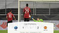 PSG, si setan merah, Manchester United, Liga Champions, Skor Pertandingan, Gol Bunuh Diri