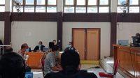Proyek di Muara Enim, kasus perkara, Sidang Virtual, sidang terpidana