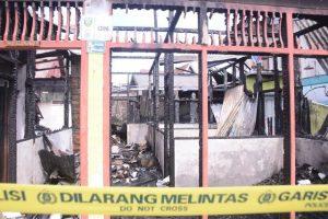musibah kebakaran, dampak kebakaran, perekonomian warga