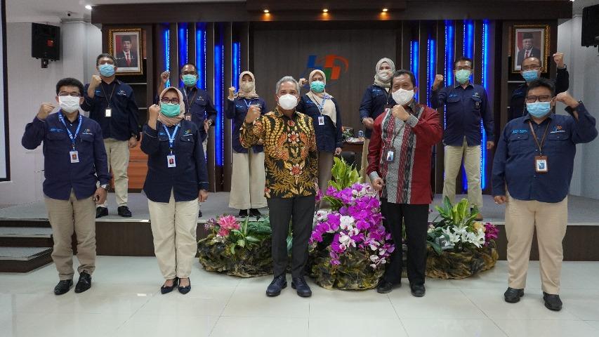 mengapresiasi kinerja BPS, Badan Pusat Statistik, Anggota Komisi XI F-PAN DPR RI, Deputy Bidang Statistik Produksi BPS, Achmad Hafisz Tohir