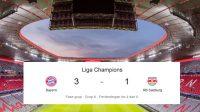 Liga Champions, Bayern Munchen, Bayern Munchen vs RB Salzburg