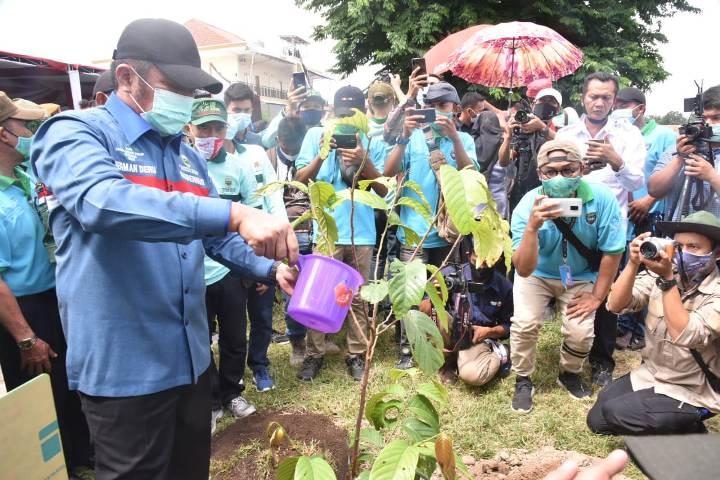 Hari Lingkungan Hidup Sedunia, Aplikasi Ancer On The Spot, Hari Menanam Pohon