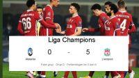 Liverpool, Hat-Trick, Skor Pertandingan, Liga Champions