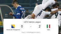 italia sukses menceta dua gol, bosnia vs italia, italia menang melawan bosnia