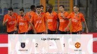 Istanbul BB vs Manchester United, Liga Champions, Manchester United, Skor Pertandingan