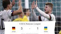 UEFA Nations League, Skor Pertandingan, Jerman, Jerman vs Ukraina