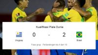 Babak Kualifikasi Piala Dunia, Skor Uruguay vs Brasil, Pertandigan Kualifikasi Piala Dunia
