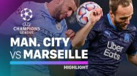 man city melawan marseille, man city masuk 16 final