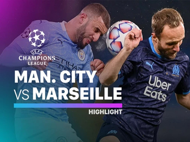 man city melawan marseille, man city masuk 16 final