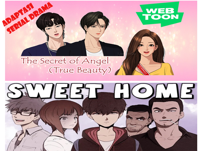 Serial adaptasi dari webtoon, film adaptasi The Secret of Angel, adaptasi film sweet home, sweet home netflix
