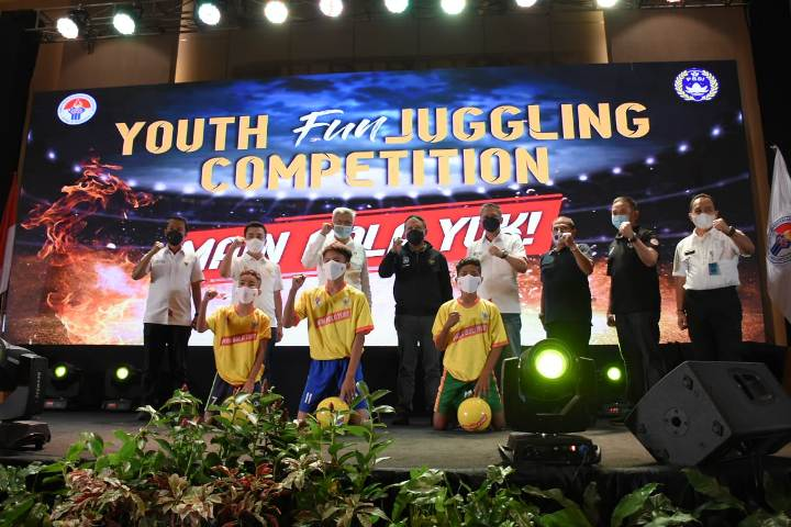 Youth Fun Juggling Competition, Sekolah Sepak Bola di Palembang, Olimpiade tahun 2032, Piala Dunia U-20, Stadion Gelora Sriwijaya Jakabaring