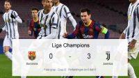 Barcelona melawan Juventus, Barcelona tak berkutik, Juventus Unggul, Tendangan Penalti, Liga Champions, Skor Pertandingan