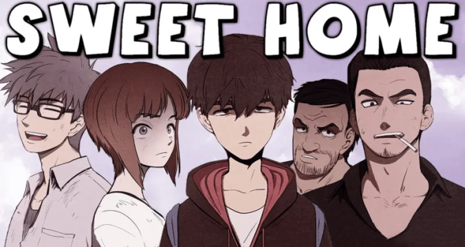serial drama sweet home, adaptasi komik sweet home, film sweet home di netflix
