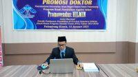 Promosi Doktor Pascasarjana