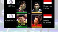 Peruangan Mohammad - Hendra, Babak Semi Final, Pertadingan Ganda Putra