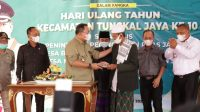 hut ke 10 tungkal jaya, jaringan gas rumahtangga, Jalan Tol Trans Sumatera