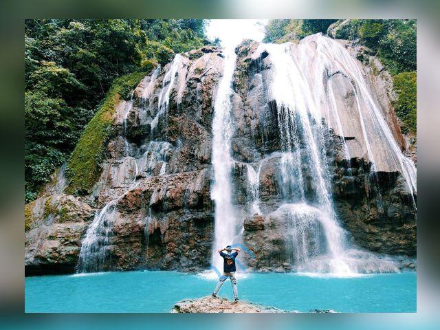 air terjun coban jahe, wisata air terjun, air terjun unik