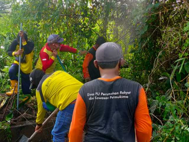 normalisasi gorong-gorong, penyebab banjir di palembang