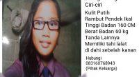 orang hilang, remaja putri kabur dari rumah