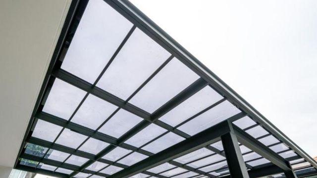 kanopi rumah minimalis transparan
