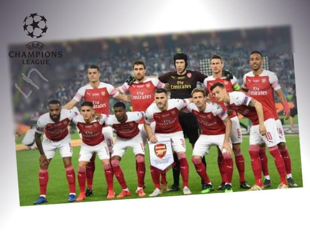 liga champions, arsenal, kemenangan beruntun