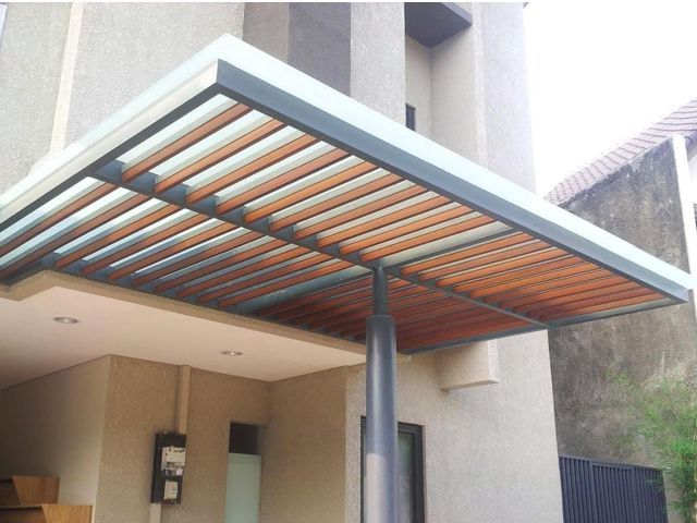 model kanopi rumah minimalis, kanopi rumah minimalis
