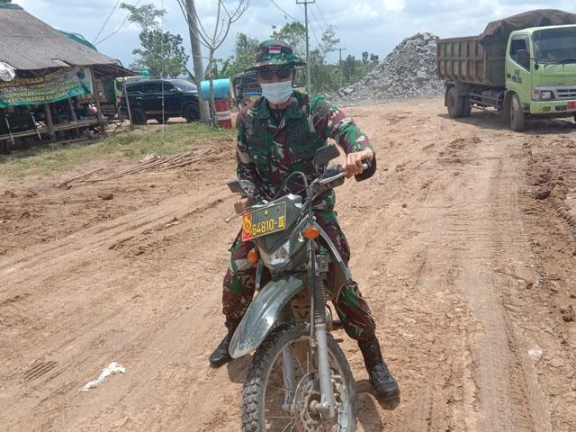 TMMD Ke-110 Lebak, Tuntaskan Jalan Tembus Dua Desa