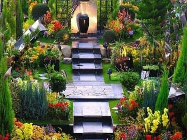 konsep taman rumah minimalis