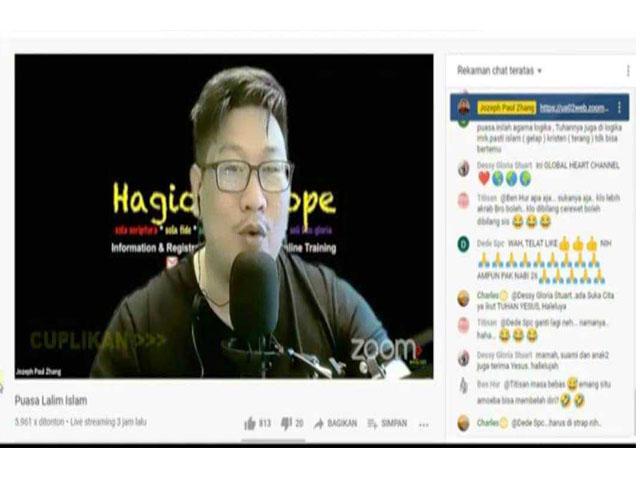 Viral Video Pria Mengaku Nabi
