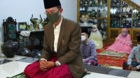 Harnojoyo jadi imam Shalat Ied