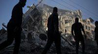 senjata yang digunakan militan, Korban Tewas di Gaza, Dampak Perang, Israel Melakukan Penyerangan