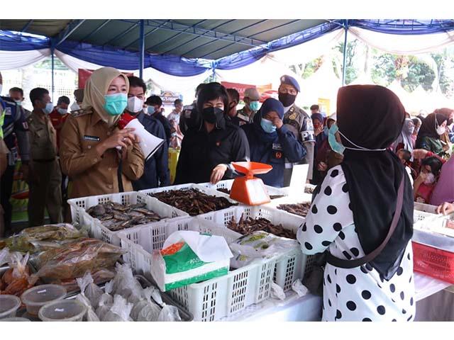 bazar murah, Lapangan Kamboja Palembang